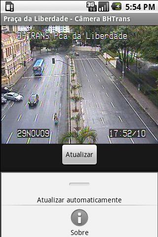 App de câmeras da BHTrans