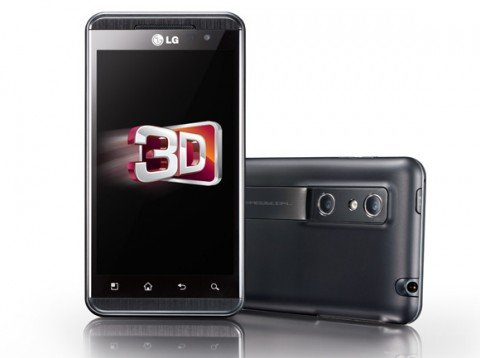 Vantagem do 3D do LG Optimus