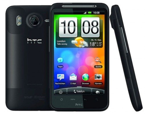 HTC Desire HD e Android 2.3