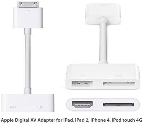 6ad843e7225 Adaptador de vídeo para iPad e iPhone - Telefones Celulares