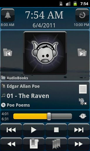 Player de audio para Android