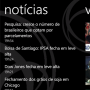 Aplicativo de bolsa de valores para Windows Phone