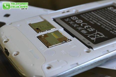Galaxy S3 com o minichip Oi