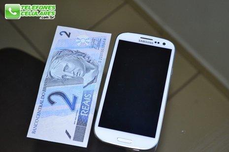 Tamanho do Galaxy S3