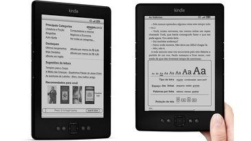 Leitor digital Kindle