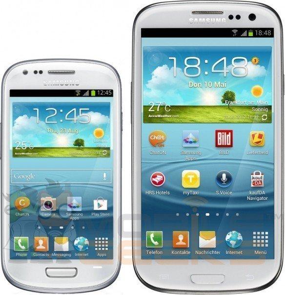 Galaxy S3 contra o Galaxy S3 mini