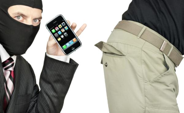 aplicativo celular roubado foto